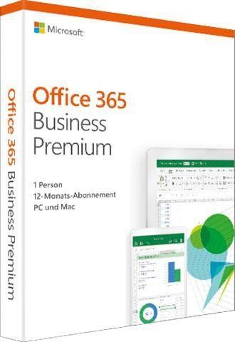 Microsoft Office 365 Business Premium (Officeprogramm, Download-Code)