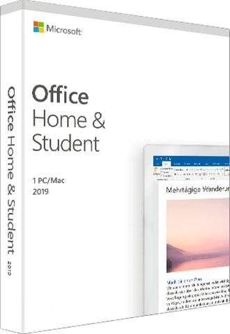 Microsoft Office Home & Student 2019 (Officeprogramm, Download-Code)