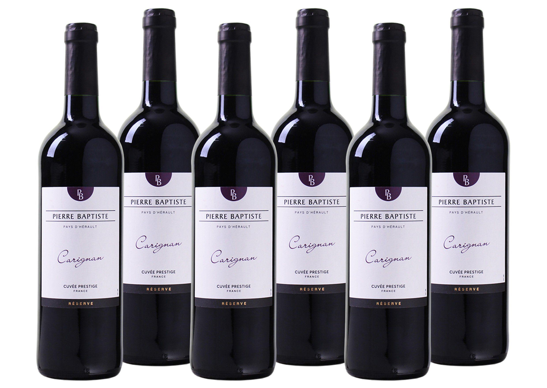 Rotwein aus Frankreich »Carignan Reserve - Pays d'Hérault IGP«