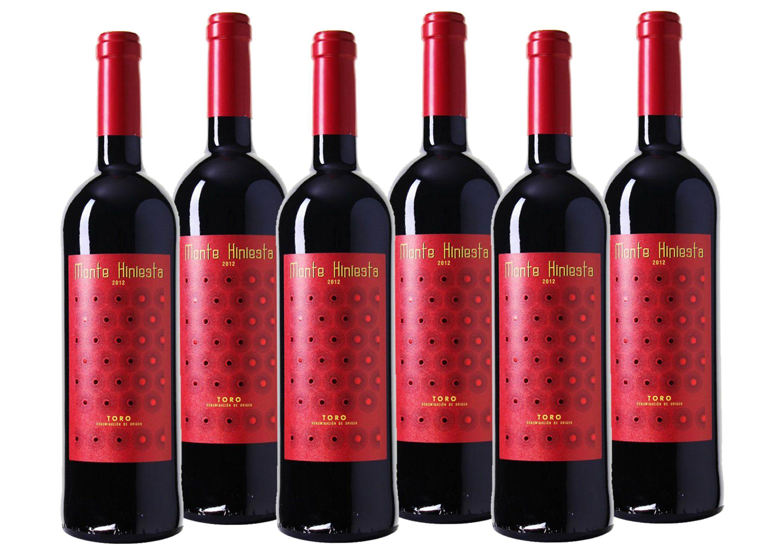 Rotwein aus Spanien »14,5% 6 x 0,75 Liter - Monte Hiniesta 2012«