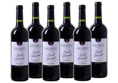 Rotwein aus Frankreich »12,5 % - 6 x 0,75 l - Pierre Baptiste 2016«