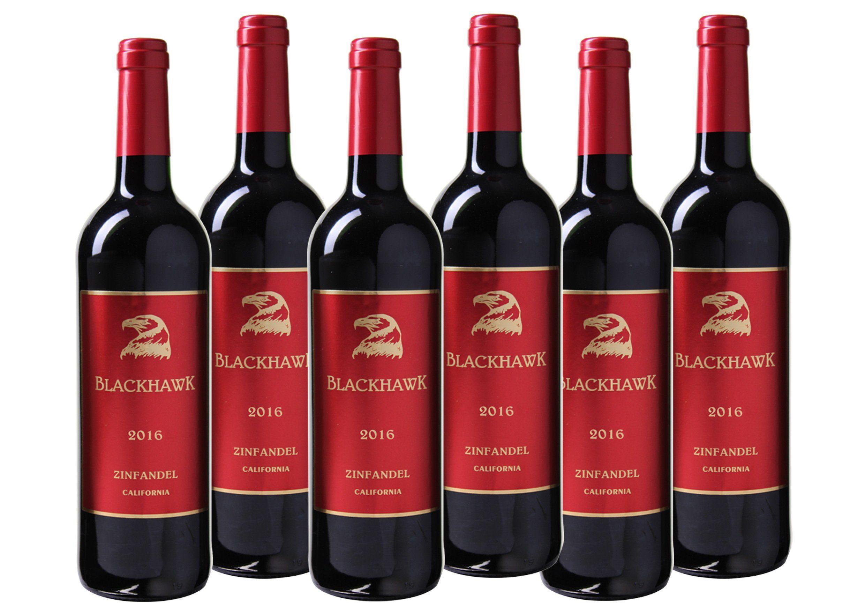 Rotwein aus Kalifornien »14,0% 6 x 0,75 Liter - Blackhawk 2016«
