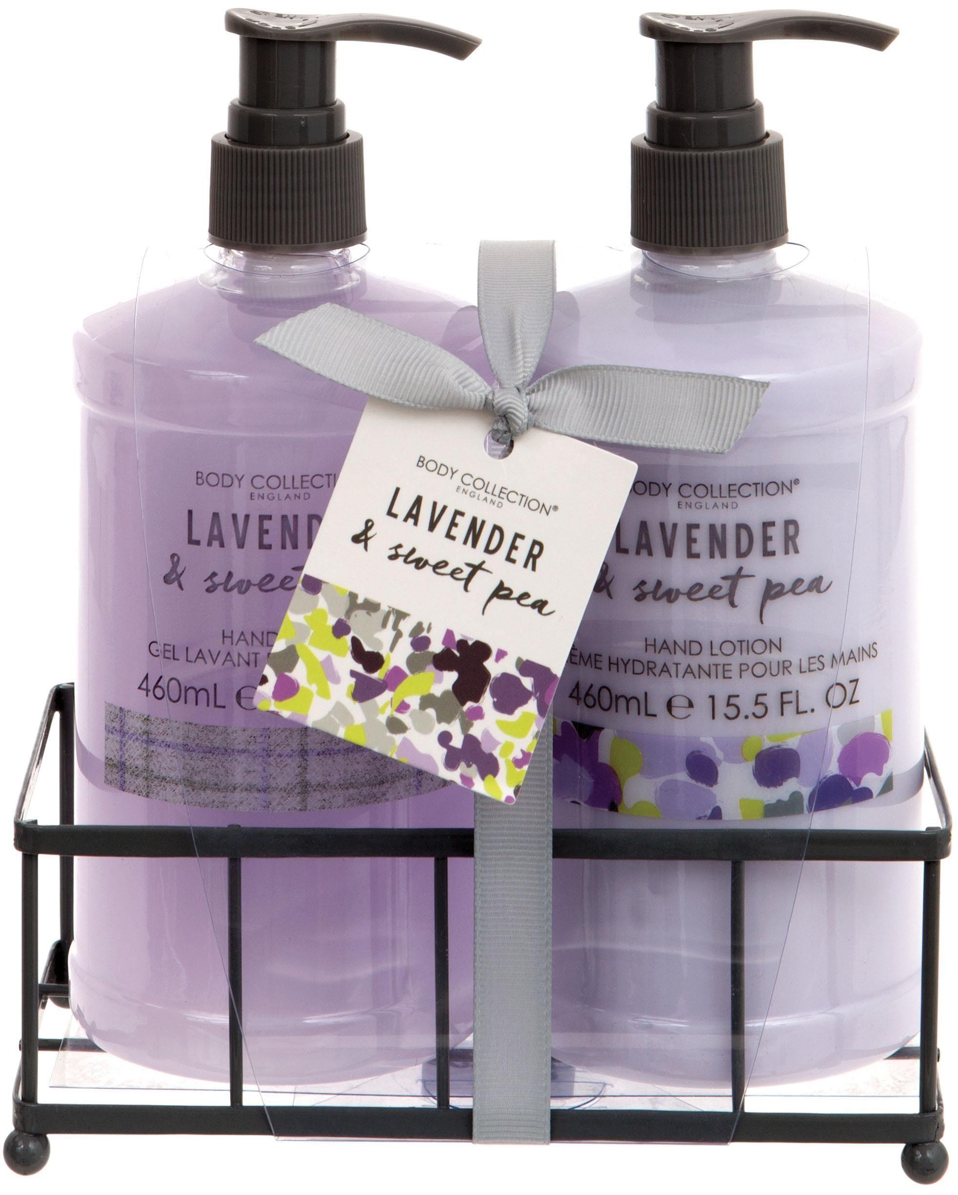 Body Collection, »Lavender & Sweet Pea Hand Duo«, Handpflege-Set (2-tlg.)