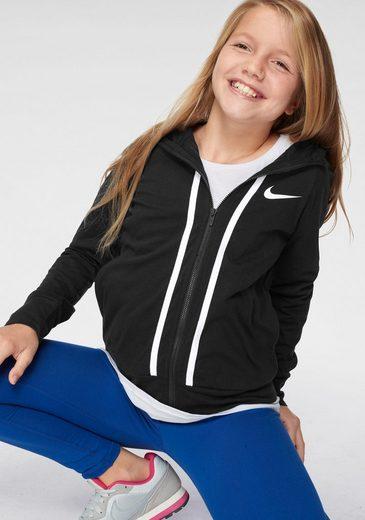 Nike Sportswear Kapuzensweatjacke »GIRLS NIKE SPORTSWEAR FULLZIP JERSEY«