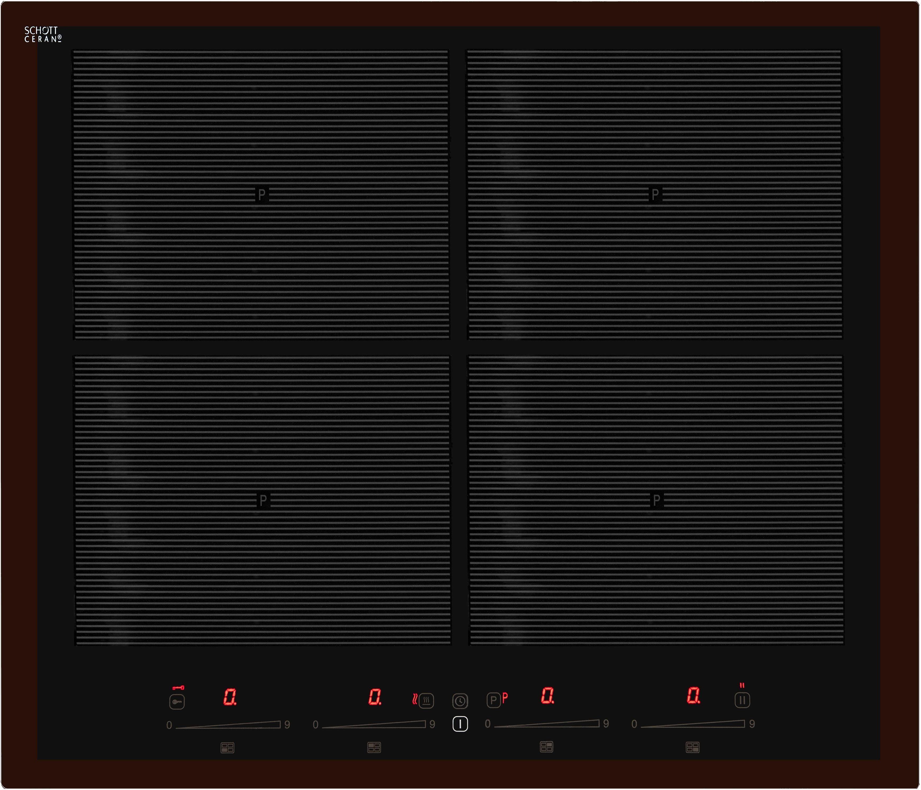 vonReiter Flex-Induktions-Kochfeld EKI 6050/4 Flex