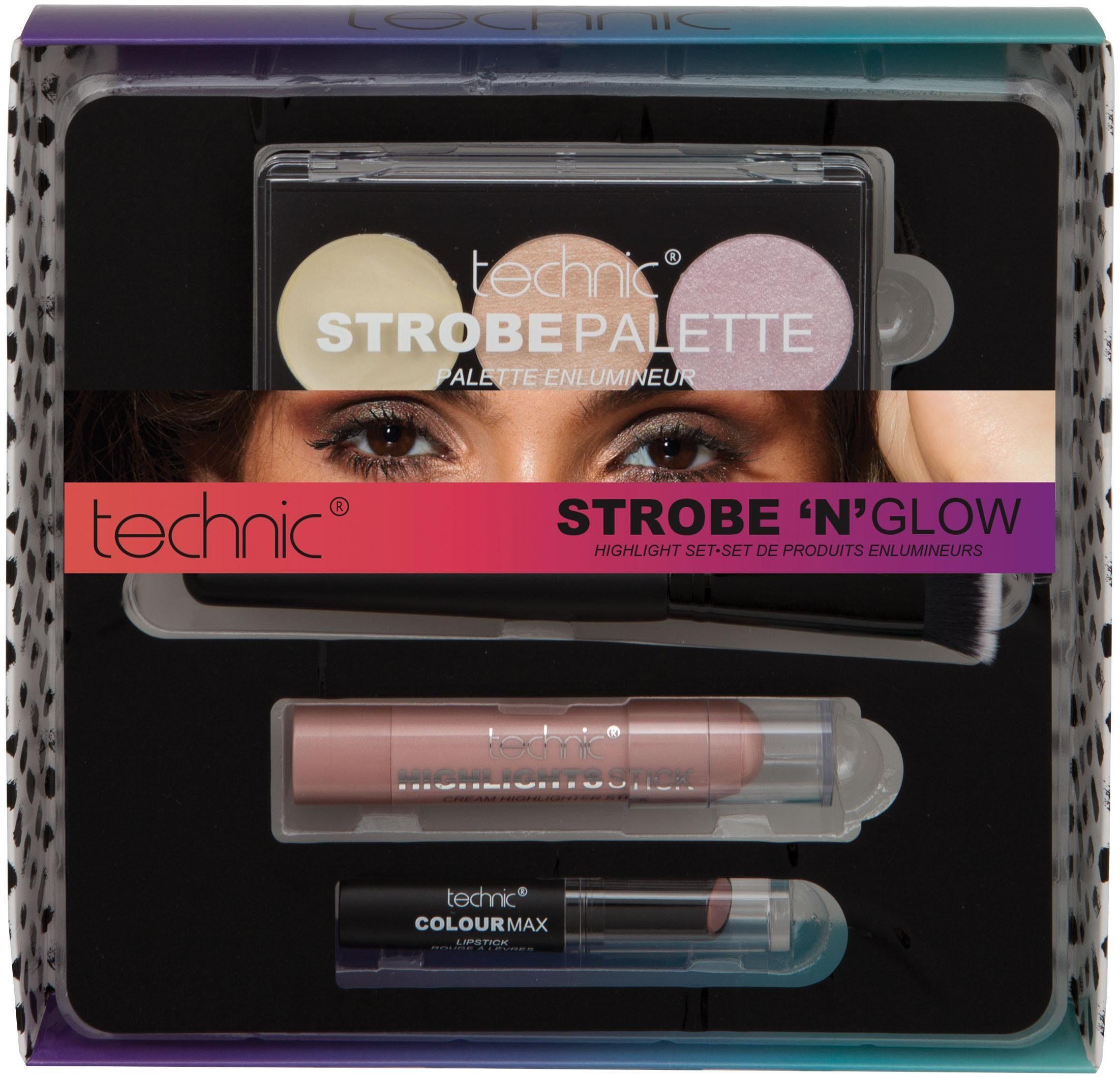 technic, »Strobe 'n' Glow«, Make Up-Set (4-tlg.)