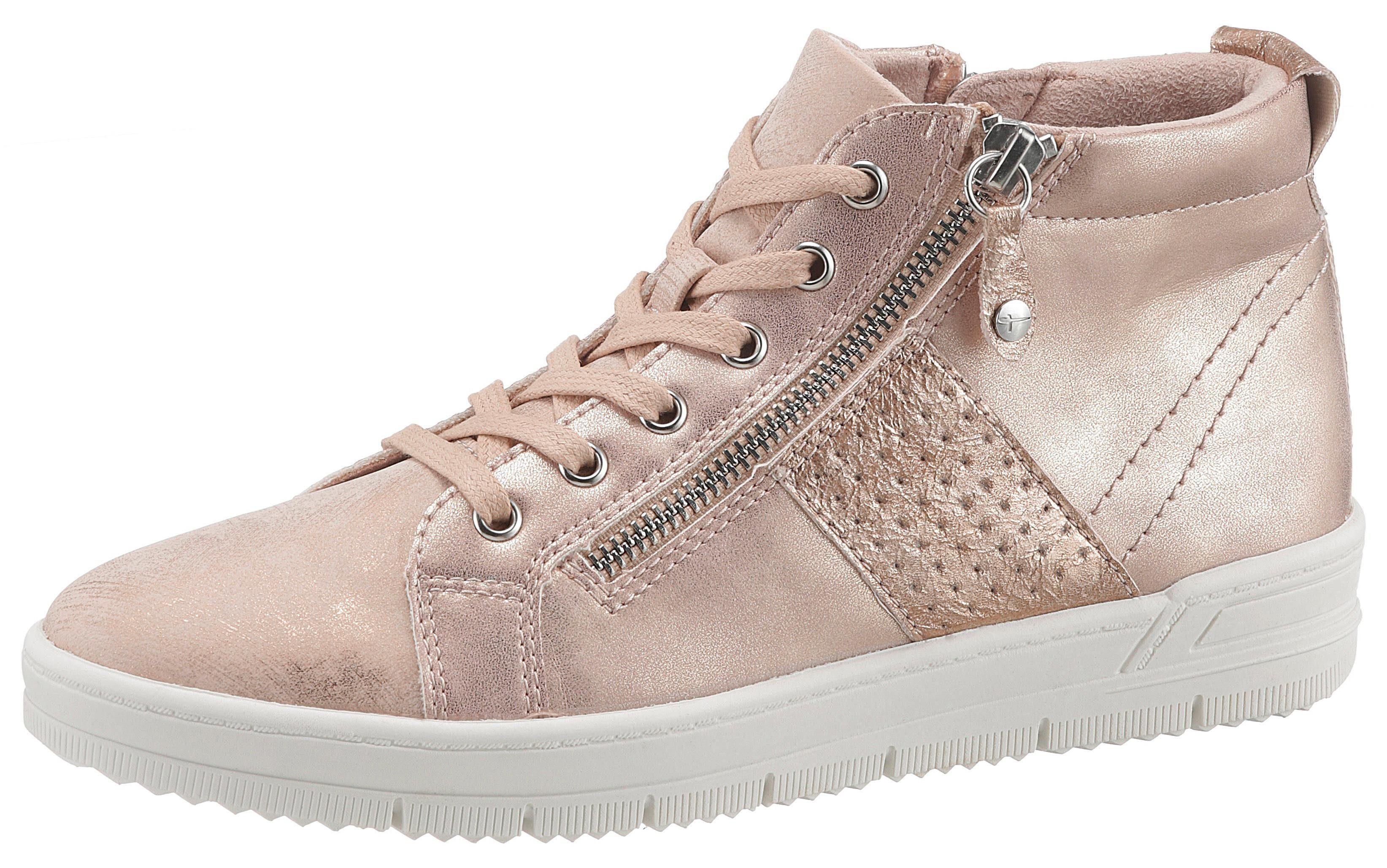 Tamaris Sneaker im lässigen Metallic Look kaufen   OTTO