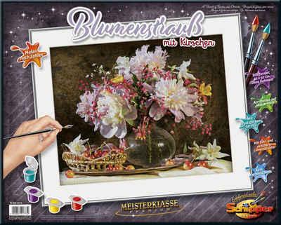 Schipper Malen nach Zahlen »Meisterklasse Premium, Blumenstrauß mit Kirschen«, Made in Germany