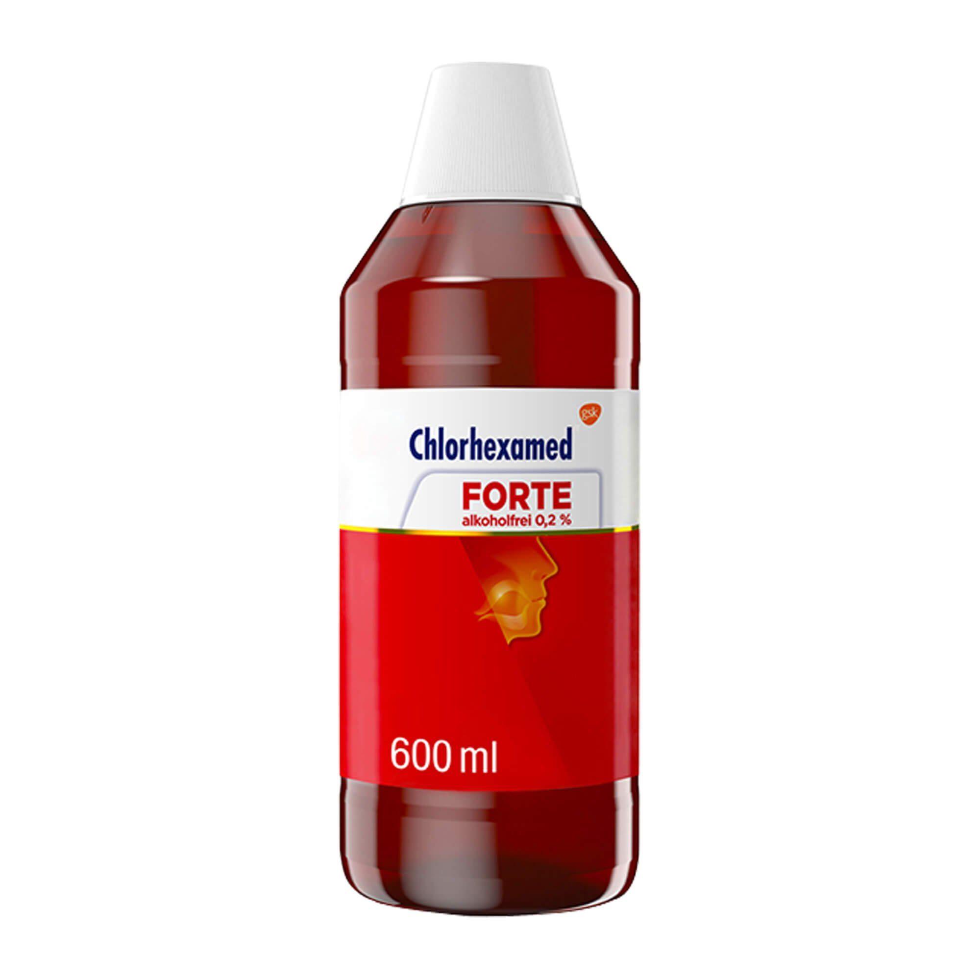 Chlorhexamed FORTE alkoholfrei 0,2% Lösung, 600 ml