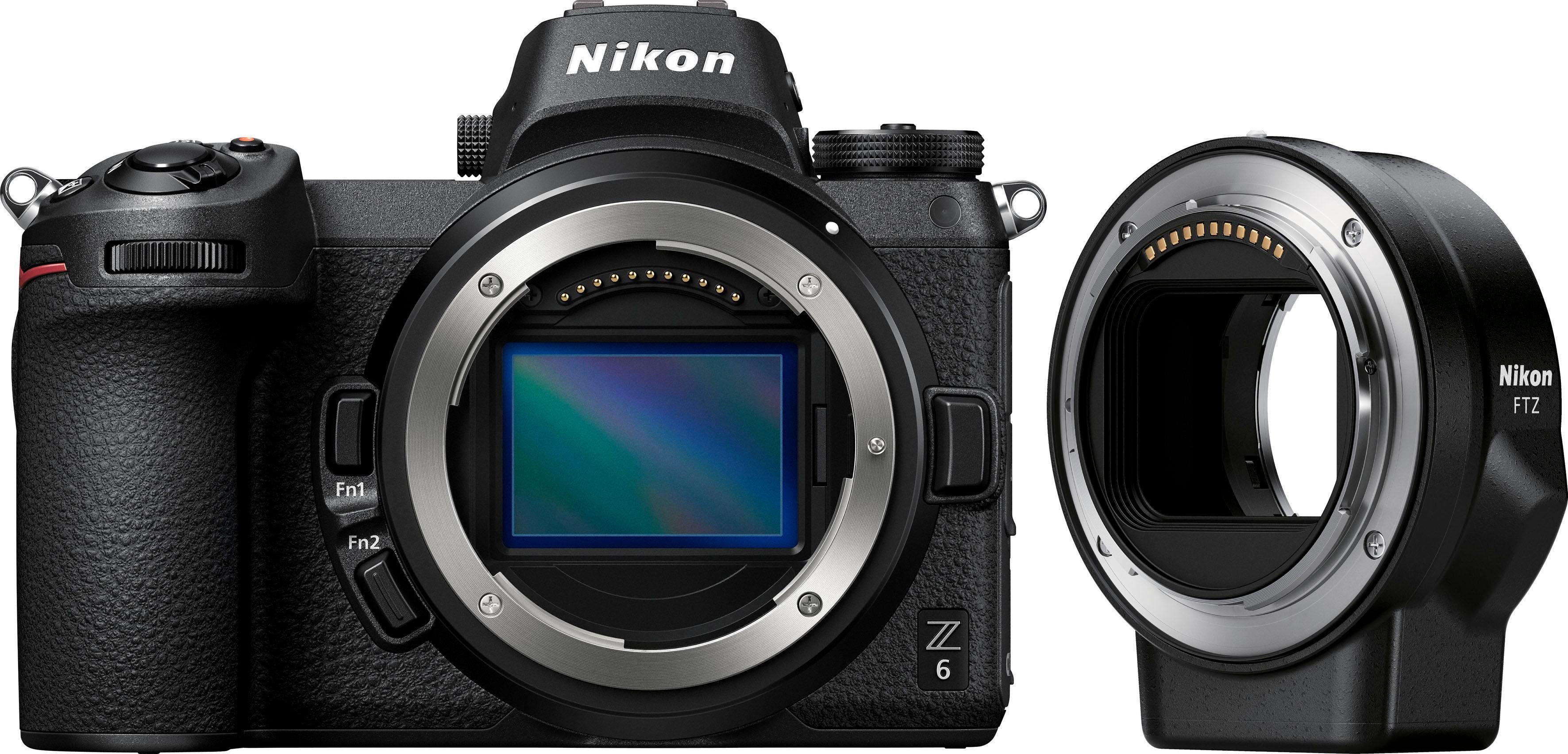 Nikon »Kit Z 6 FTZ« Systemkamera (24,5 MP, Bluetooth, WLAN (Wi-Fi)