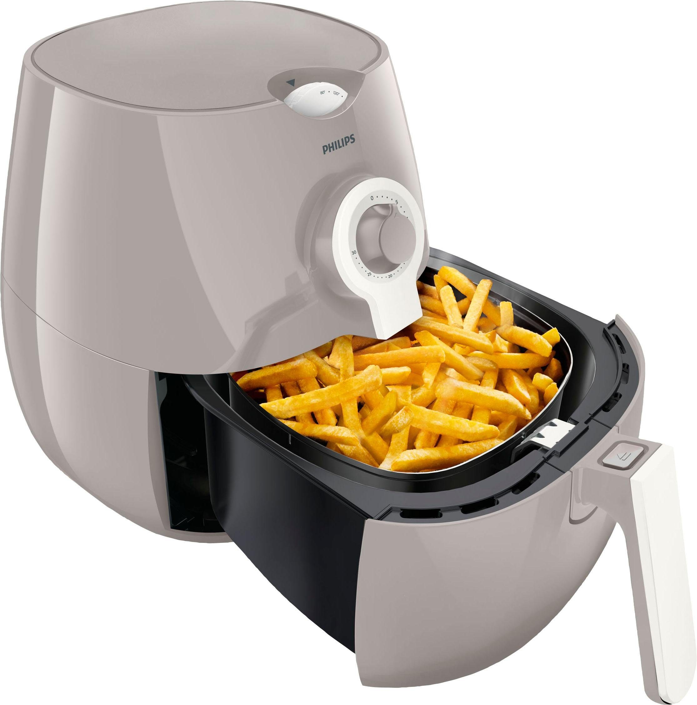 Philips Heissluftfritteuse HD9218/25 Airfryer Daily Collection, 1425 W, inkl. Backform, 1450 W