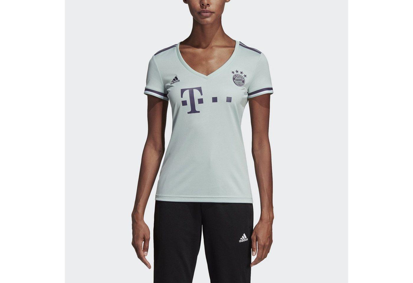 adidas Performance Fußballtrikot »FC Bayern München Auswärtstrikot« | Sportbekleidung > Trikots | Grün | adidas Performance