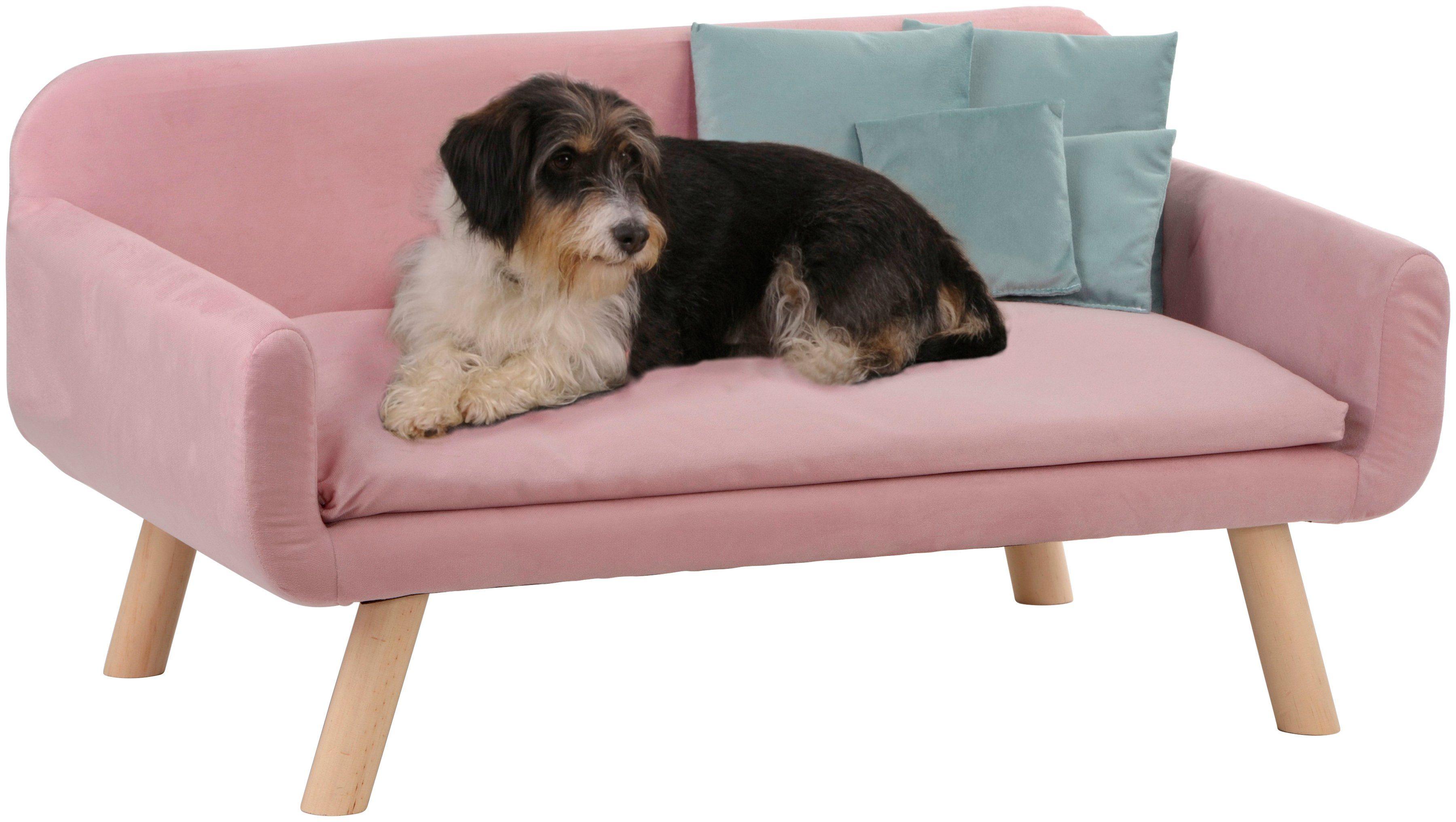 SILVIO DESIGN Hundesofa »Cora«, BxLxH: 103x60x50 cm