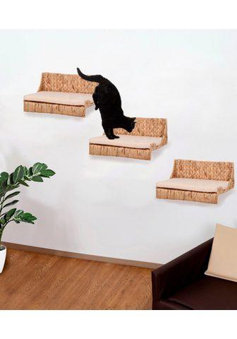 SILVIO DESIGN Pakabinamas kačių stovas su draskykle ...