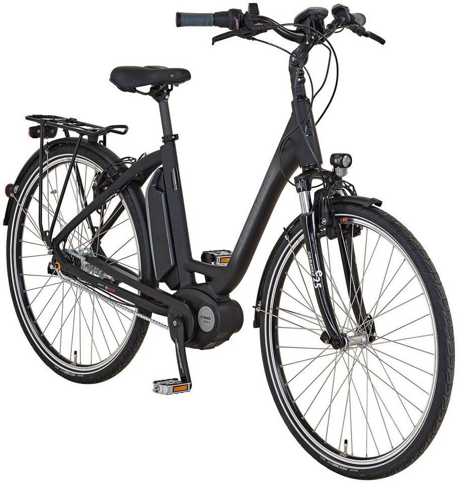 stratos e bike city 28 zoll 7 gang bosch mittelmotor. Black Bedroom Furniture Sets. Home Design Ideas