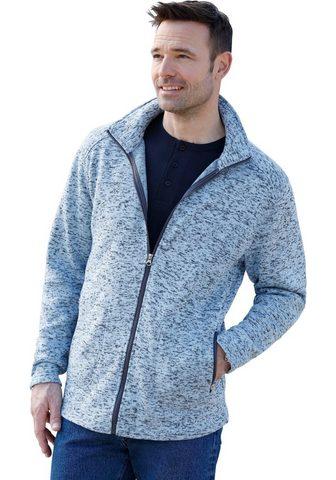 Флисовый пуловер с воротник стойка