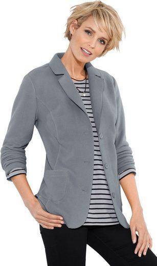 Classic Basics Fleece-Blazer mit Antipilling-Ausrüstung