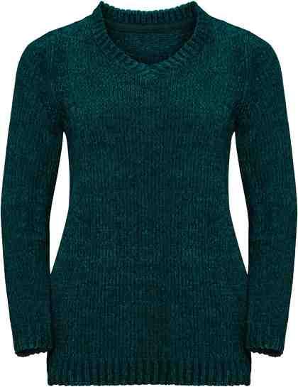 Classic Basics Pullover aus weichem Chenille