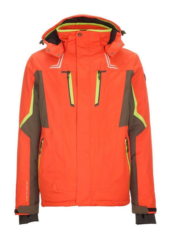 Herren Killtec Skijacke Ullio orange | 04061393012359