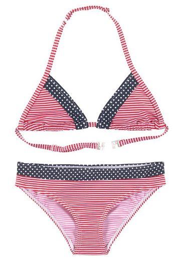 s.Oliver Beachwear Triangel-Bikini mit Mustermix