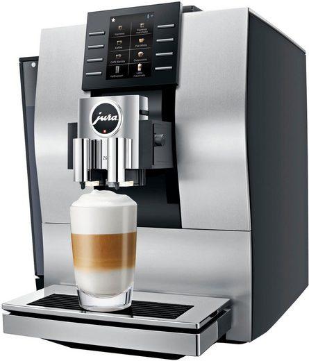 JURA Kaffeevollautomat Z6 Aluminium, Wireless ready und kompatibel mit JURA App J.O.E.®, Smart Connect im Lieferumfang enthalten