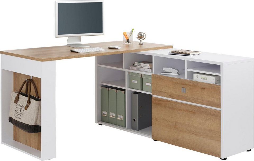 maja m bel eck schreibtisch 4021 online kaufen otto. Black Bedroom Furniture Sets. Home Design Ideas