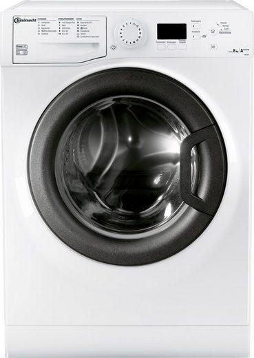 BAUKNECHT Waschmaschine AM 8F4, 8 kg, 1400 U/Min