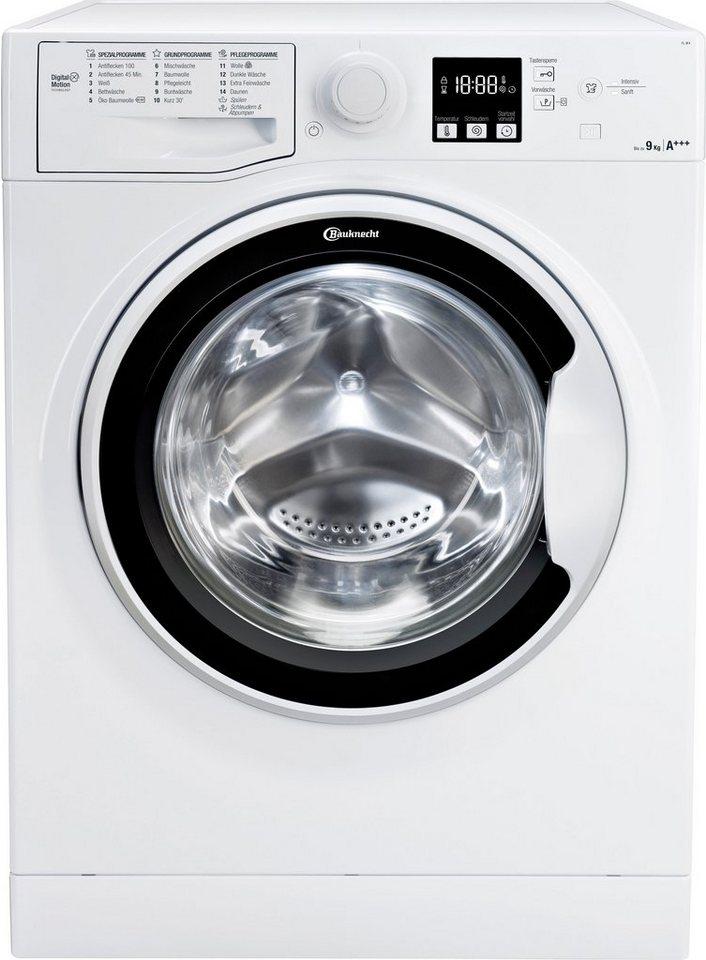 bauknecht waschmaschine fl 9f4 9 kg 1400 u min otto. Black Bedroom Furniture Sets. Home Design Ideas