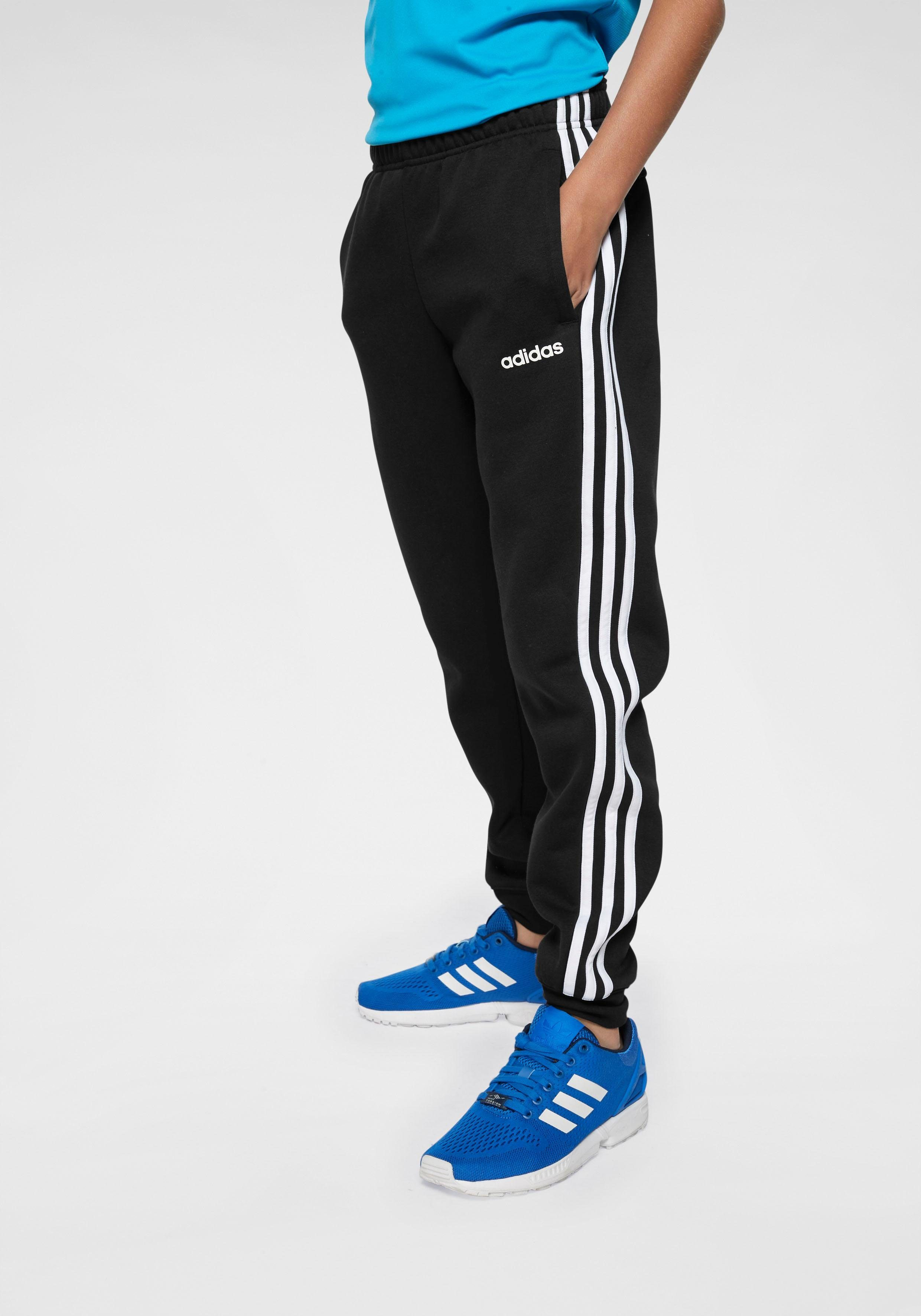 ADIDAS TRAININGSHOSE JOGGINGHOSE BLAU Jungs Gr. 152***TOP***
