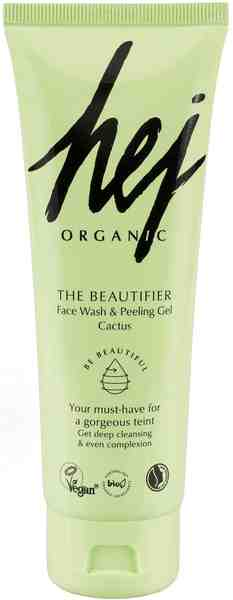 HEJ ORGANIC, »The Beautifier Face Wash & Peeling Gel Cactus«, Reinigungsgel