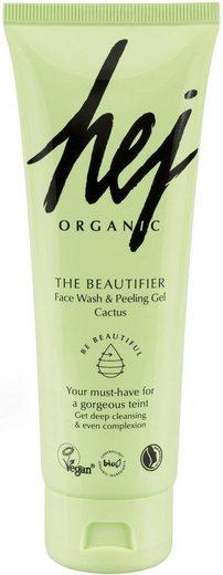HEJ ORGANIC Waschgel »The Beautifier«, Face Wash & Peeling Gel Cactus