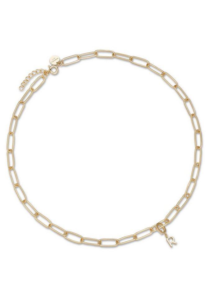 ROSEFIELD Charm-Kette »Initial chain necklace - Gold, JICNG-J019« | Schmuck > Armbänder > Armketten | Goldfarben | ROSEFIELD
