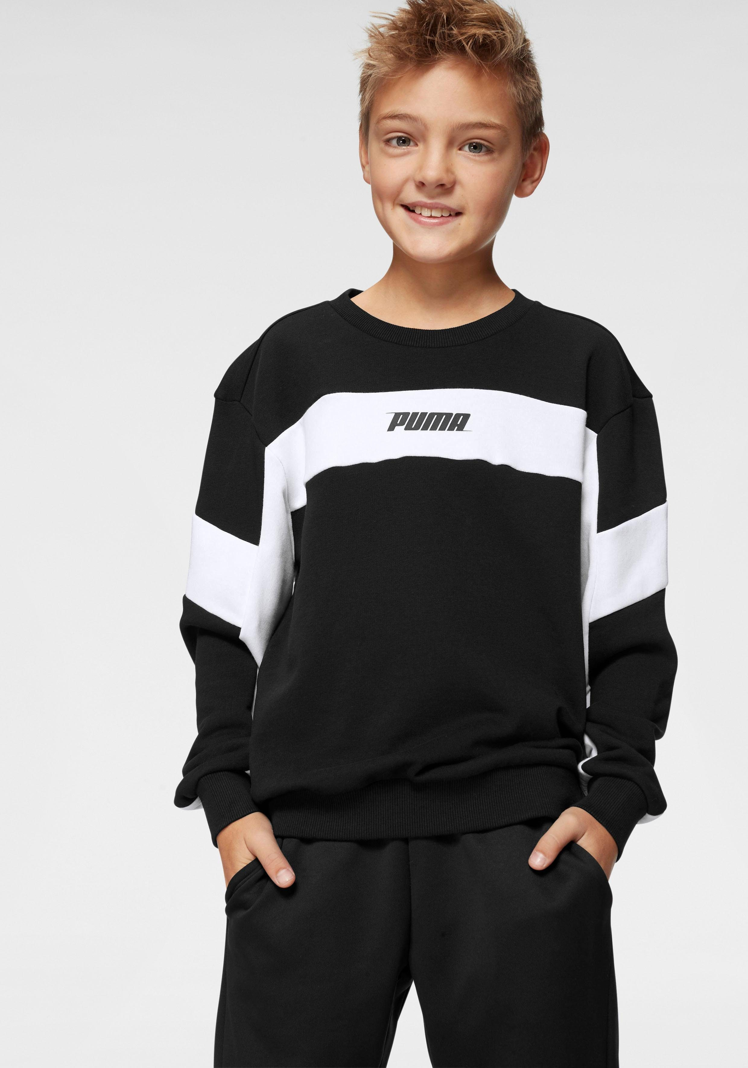 PUMA Sweatshirt »REBEL CREW SWEAT BOYS«