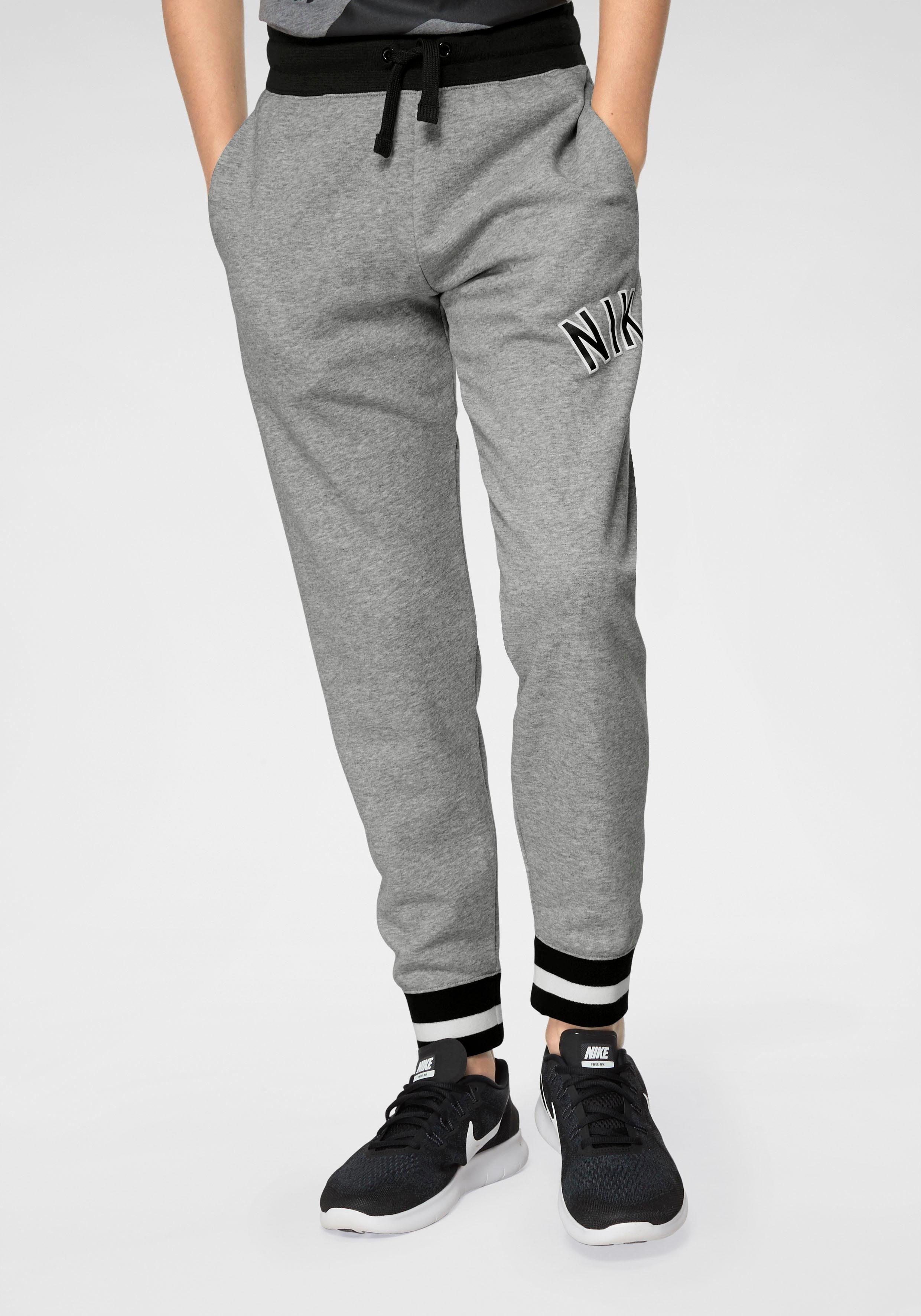 Jogginghose aus sweatware, innen weich angeraut grau Nike