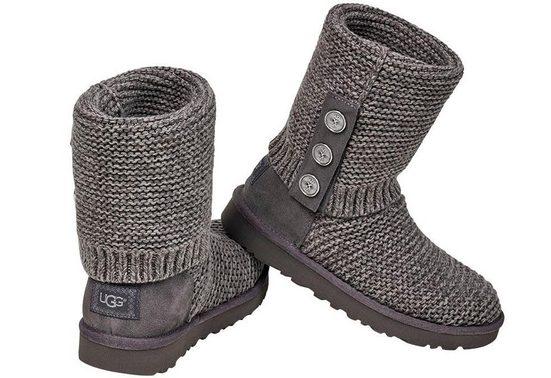 UGG »Purl Cardy Knit« Winterstiefel mit umklappbarem Schaft