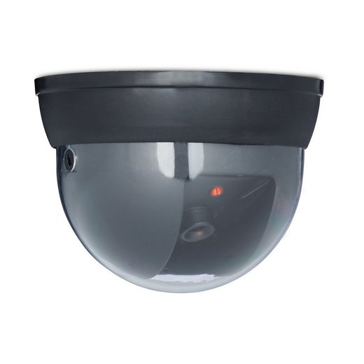 relaxdays »Dummy Kamera Dome« Überwachungskamera Attrappe