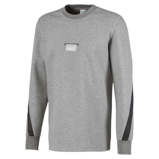 PUMA Sweater »Avenir Sweatshirt mit Rundhalskragen«