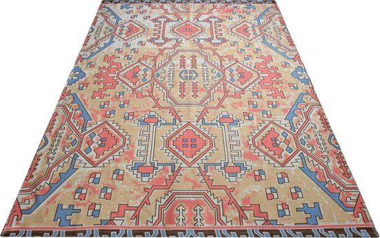 Teppich »Jenille«, OTTO products, rechteckig, Höhe 5 mm, aus 100% recyceltem Garn, Wohnzimmer