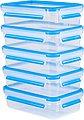 Emsa Frischhaltedose »Emsa Clip & Close«, Kunststoff, (Set, 10-tlg., 5 Vorratsdosen mit jeweils einem Deckel), 100% dicht, Made in Germany, Bild 1