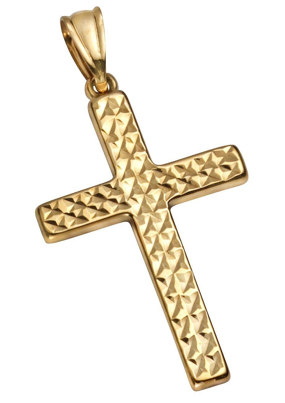 Firetti Kettenanhänger »Kreuz« diamantiert