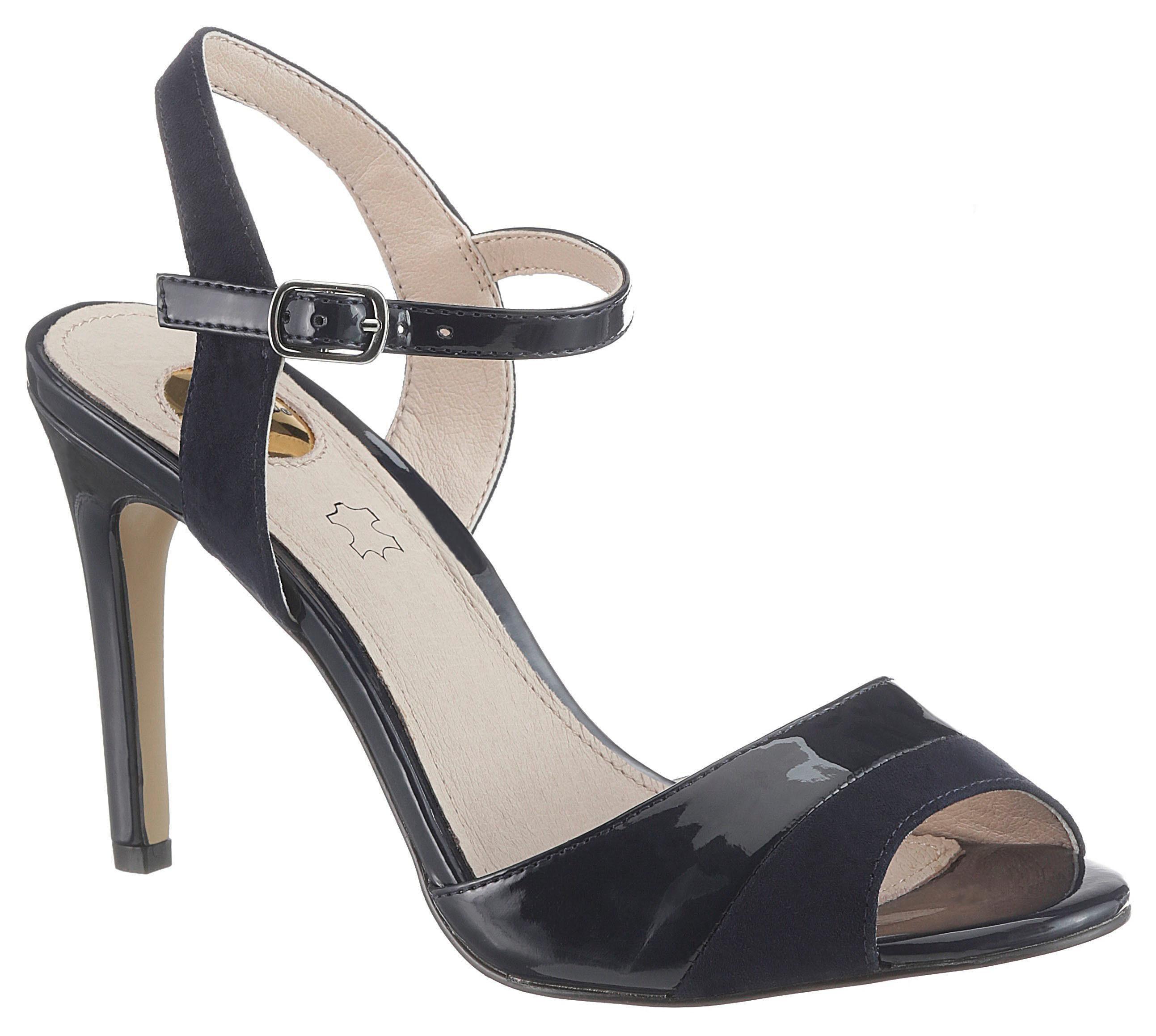 Materialmix High Online Eleganten Buffalo Sandalette KaufenOtto Im Heel PnwkO0