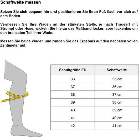 Tamaris Lyralochung Stiefel Mit »rosemary« Schwarz 5Rj4AL