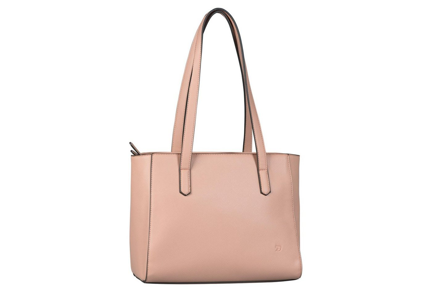 Tom Tailor Denim Shopper »CARINE«, Basic   Taschen > Handtaschen > Shopper   Rosa   Tom Tailor Denim