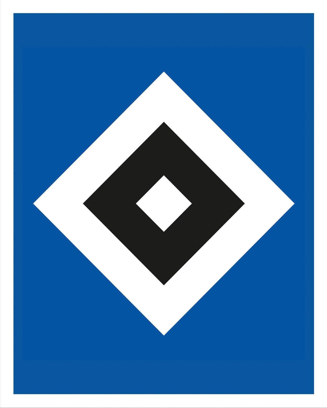 Poster »HSV Raute«, 50/60 cm