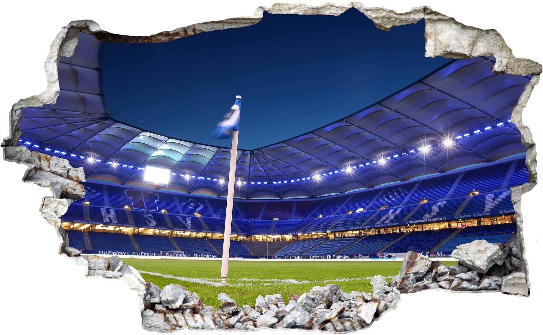 3D Wandtattoo »HSV Arena 02«, 80/49 cm