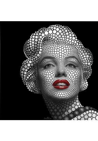 Plakatas »Circlism: Marilyn Monroe«