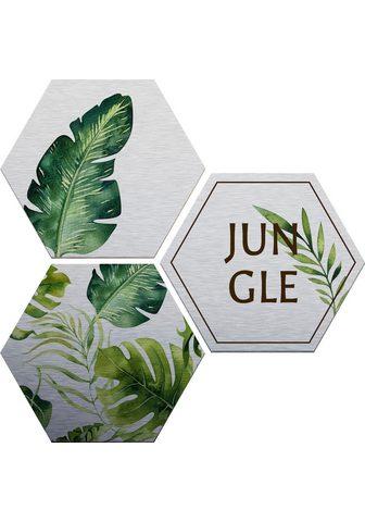 Paveikslas »Kvilis - Jungle« (Set)