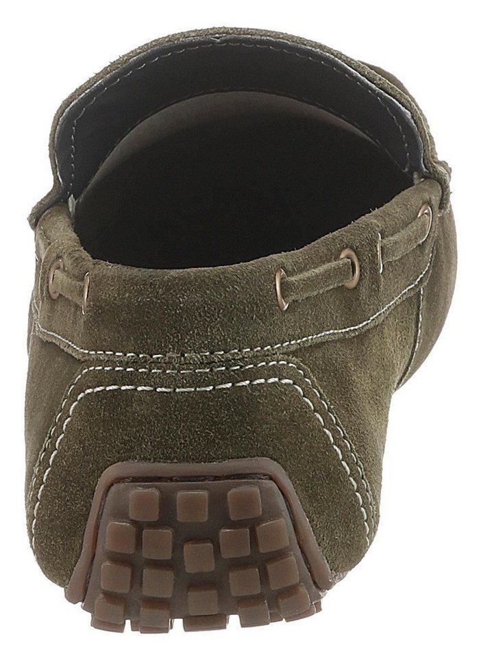 PETROLIO Slipper in Mokassin Optik | Schuhe > Mokassins | Grün | PETROLIO
