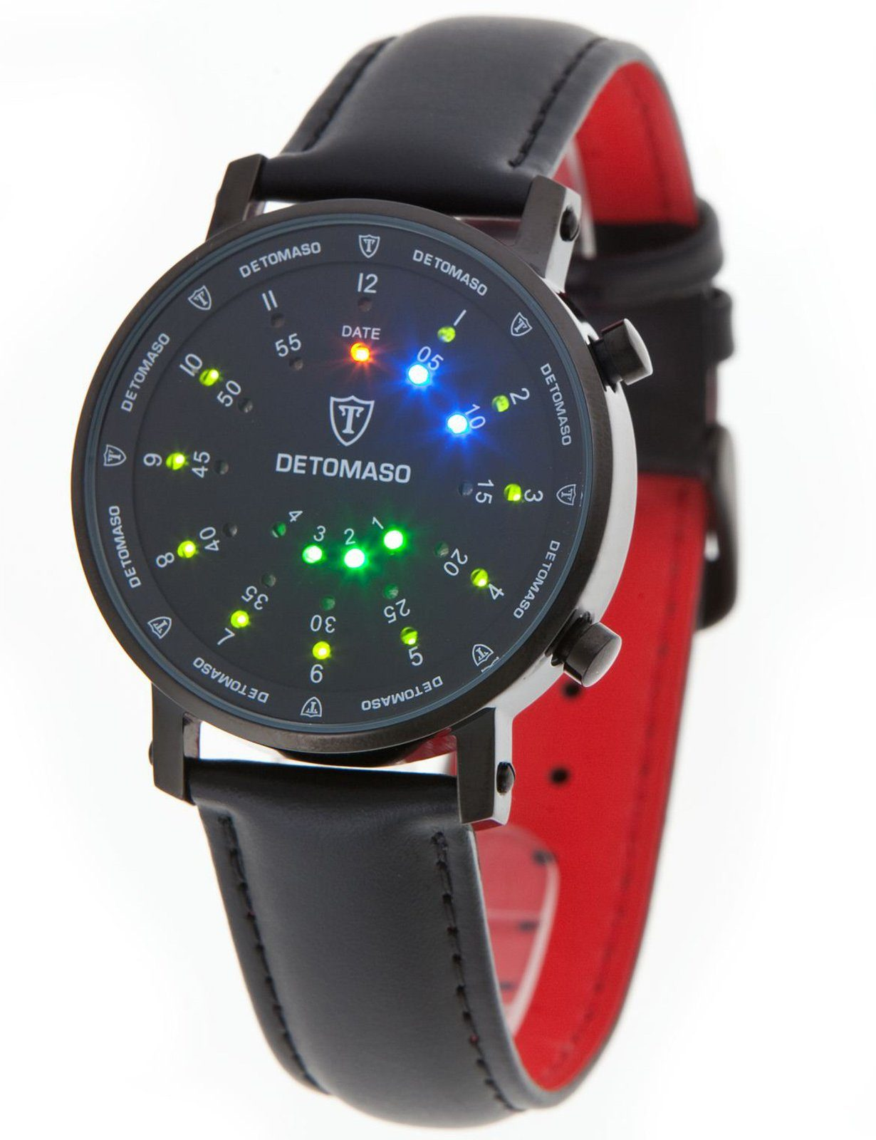 Detomaso Digitaluhr »SPACY TIMELINE 2«