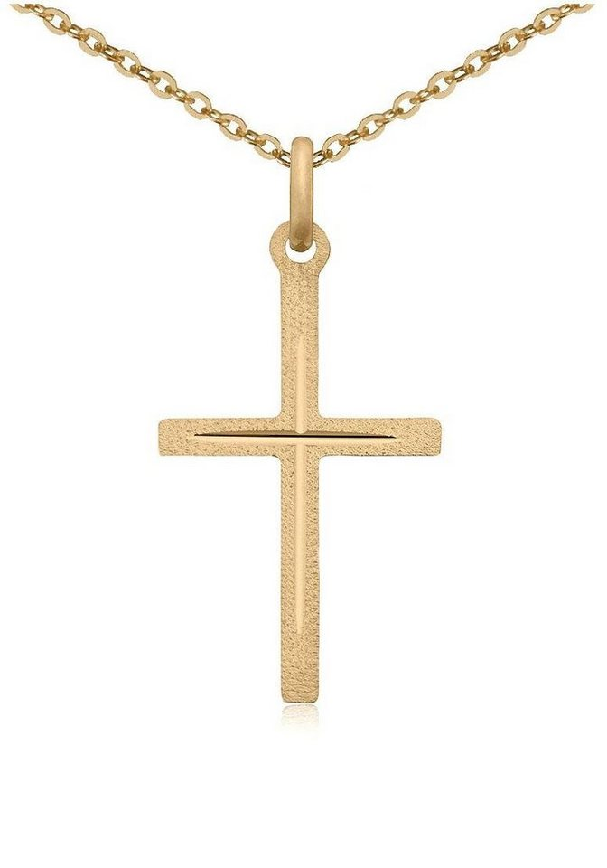Firetti Kette mit Anhänger »Kreuz« diamantiert   OTTO 90c5941ec8